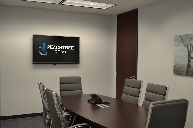 Person Conference Room For Rent In DunwoodyPerimeter Peachtree - 6 person conference table