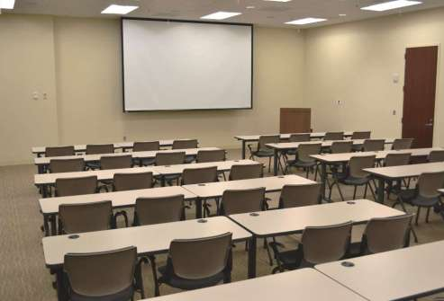 Large Conference Center & Training Room: Fits 54 to 150 People